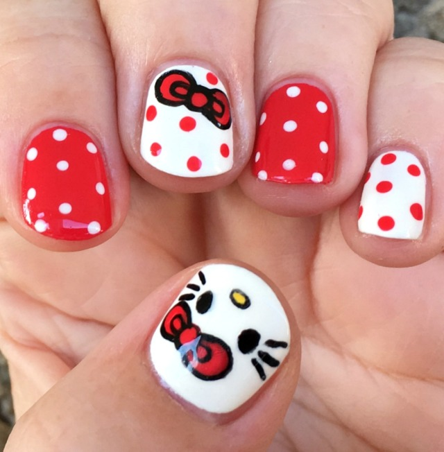 Hello Kitty Nail Art Book By Masako Kojima Finger Candy