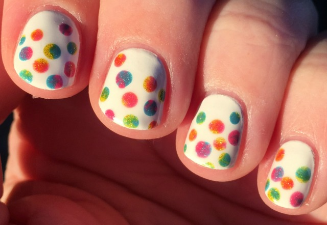 Marbled Dots Sunshine