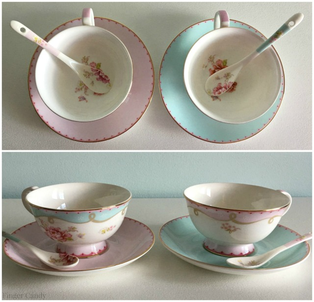 Tea Time Cups Collage