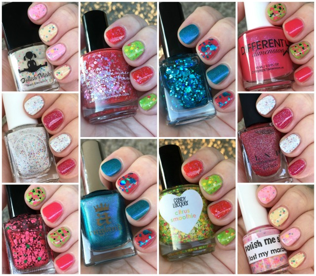 Summer Polish Collage