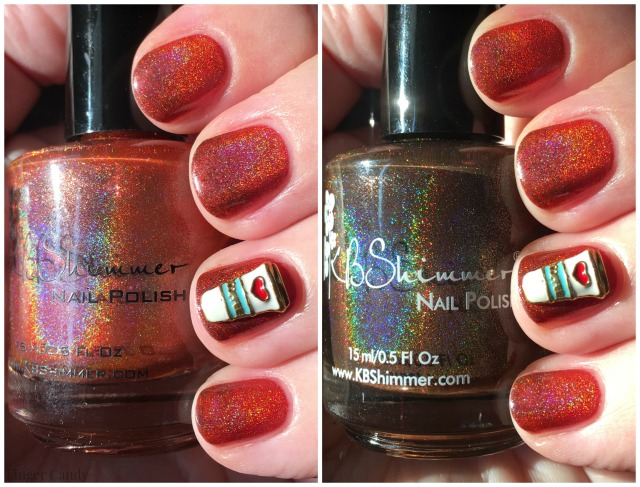 Pumpkin Spice Polish Collage
