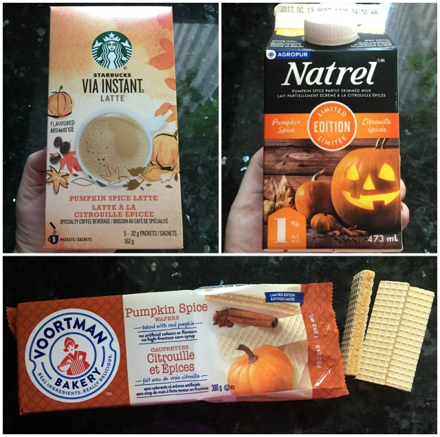 Pumpkin Spice Products Collage