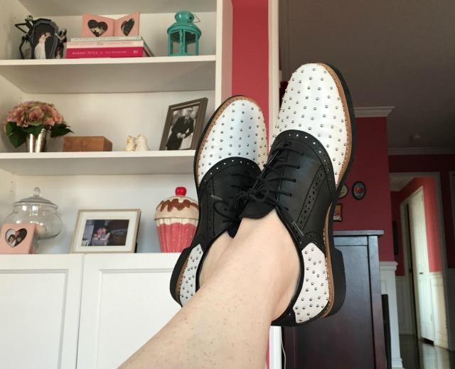 Saddle Up Shoes Inside