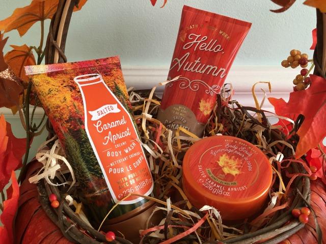 Salted Caramel Apricot Basket Closeup