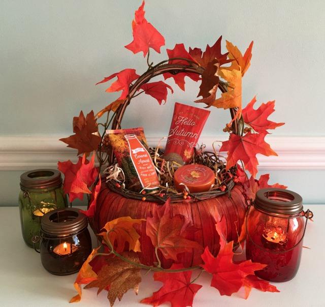 Salted Caramel Apricot Basket