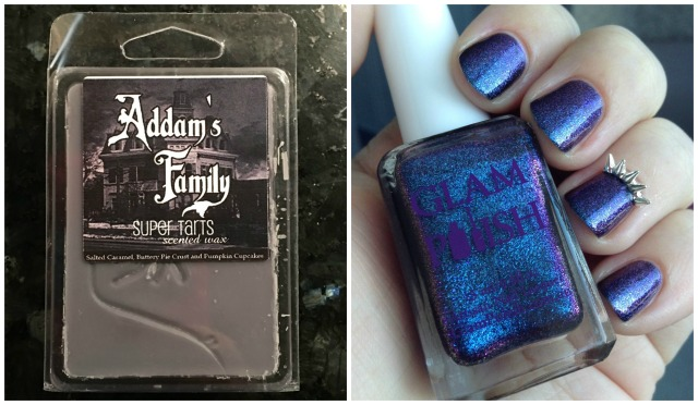 Addam's Family Wax and Mani Collage