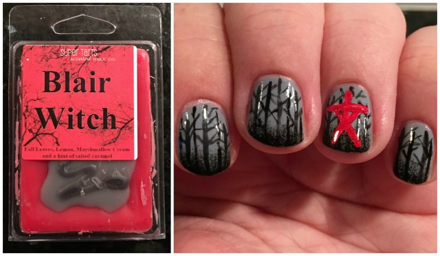 Blair Witch Wax and Mani Collage