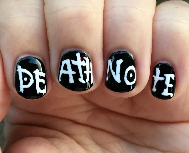 Death Note Fingers