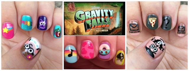 Gravity Falls Mani Collage