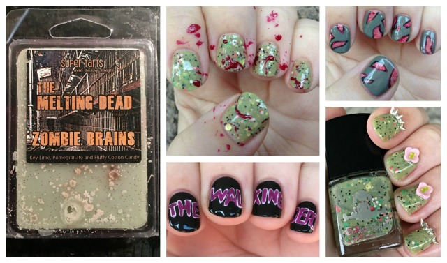 TWD Wax and Manis Collage