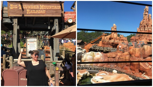 Big Thunder Collage