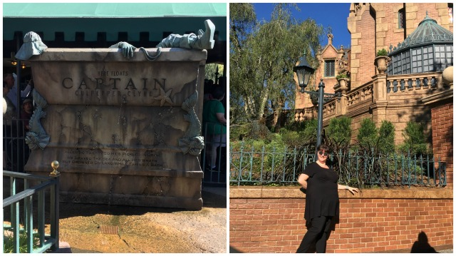Haunted Mansion Two Collage