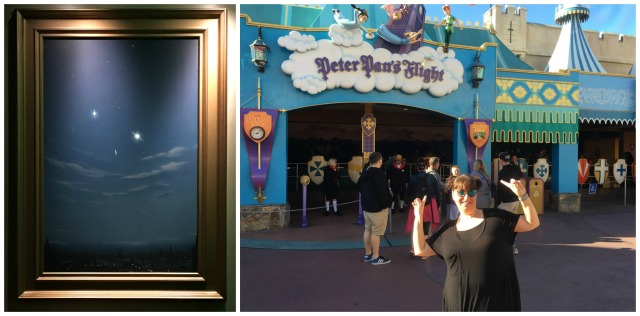 Peter Pan's Flight Collage