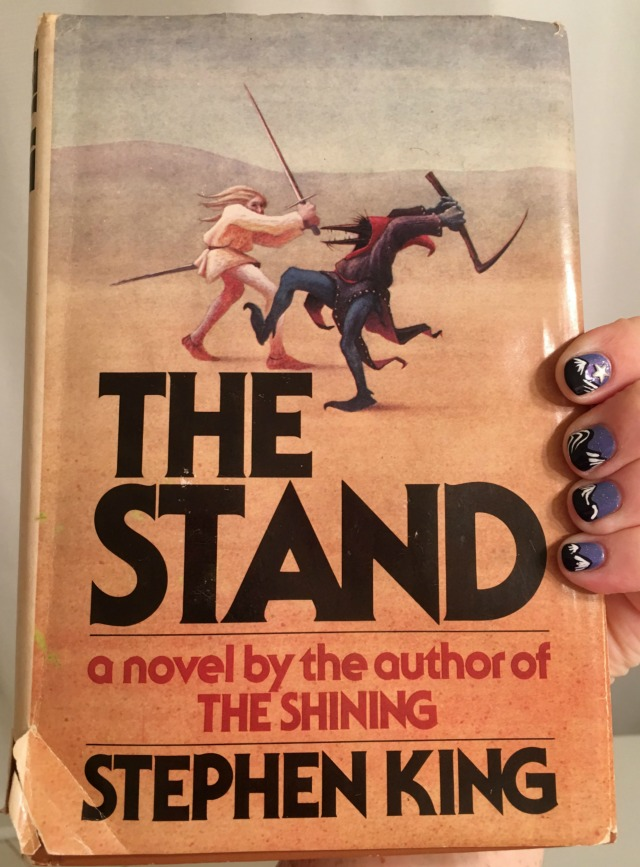 The Stand book and nails