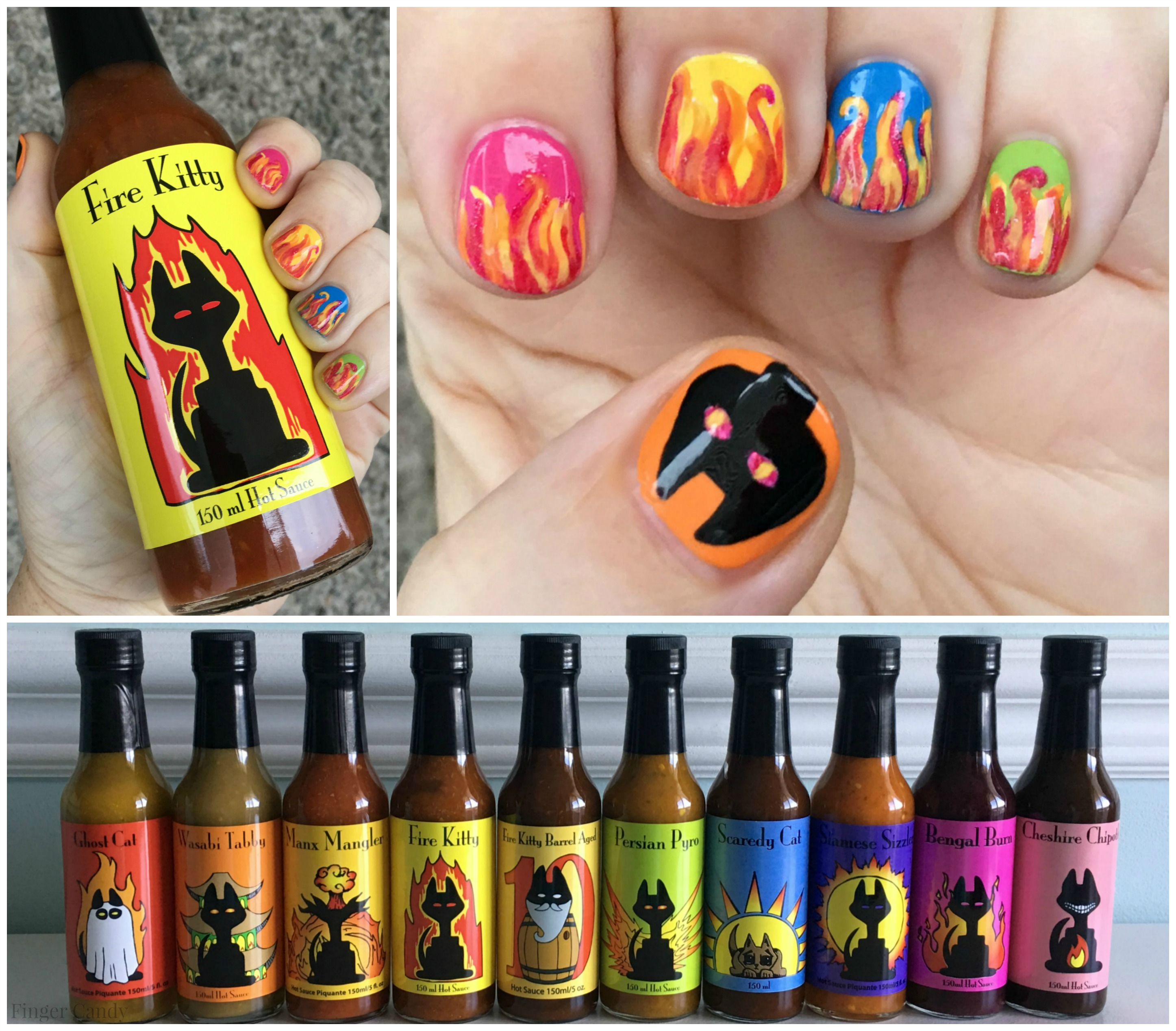 Hot Sauce Main Collage