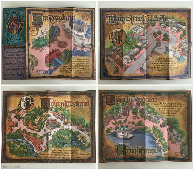 Sorcerers Maps Collage