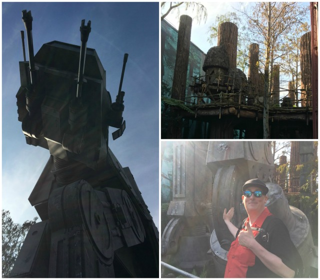 Star Tours Collage