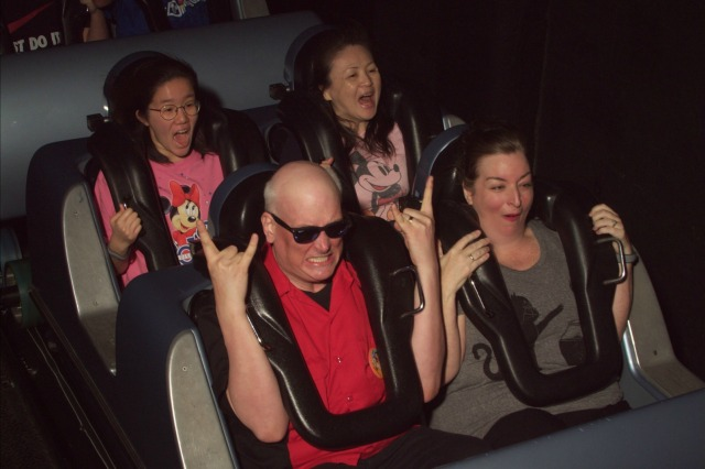 On Ride Rockin Roller Coaster