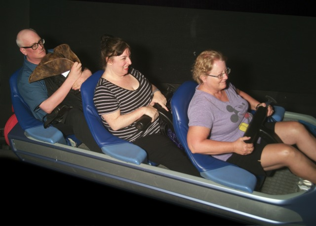On Ride Space Mountain