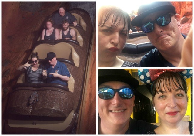 Splash Mountain Collage