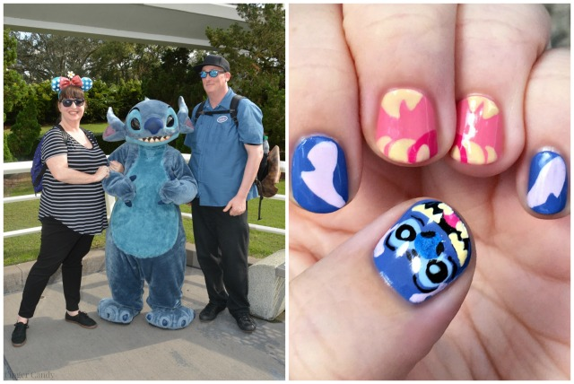 Stitch Nail Collage