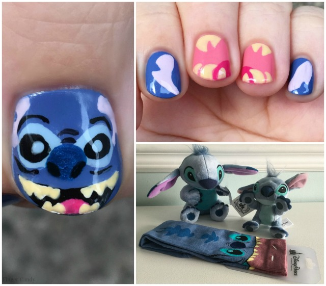 Stitch Nails and Merch Collage