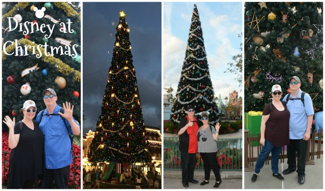 Disney at Christmas Collage