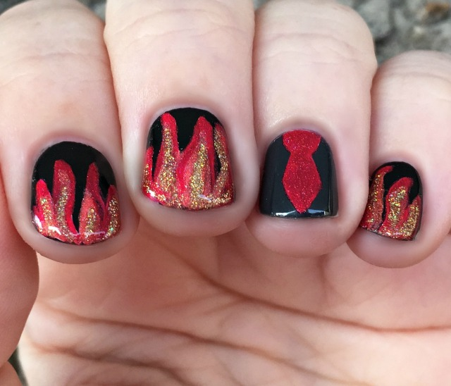 The Burning World Nails 1