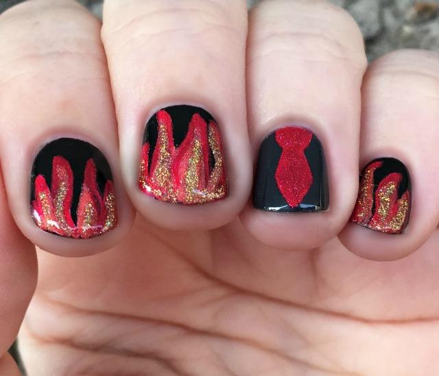 The Burning World Nails 1