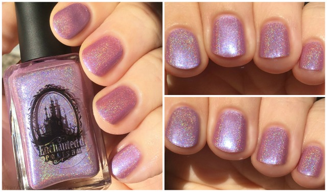 Rainbow Holo Collage 10 Purple