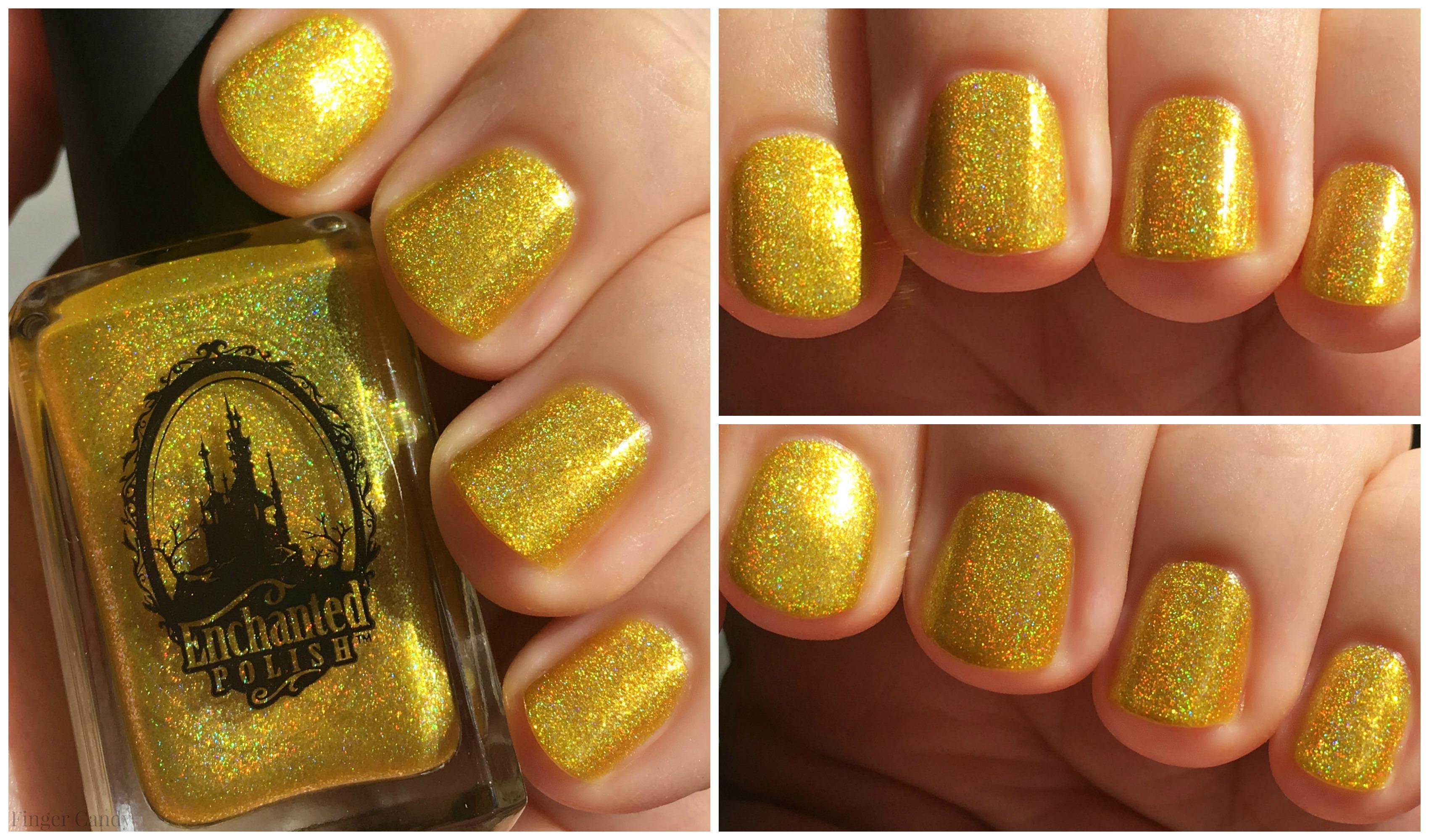 Rainbow Holo Collage 5 Yellow
