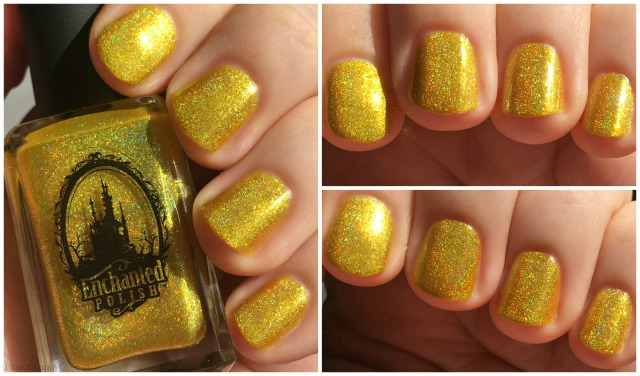 Rainbow Holo Collage 5 Yellow