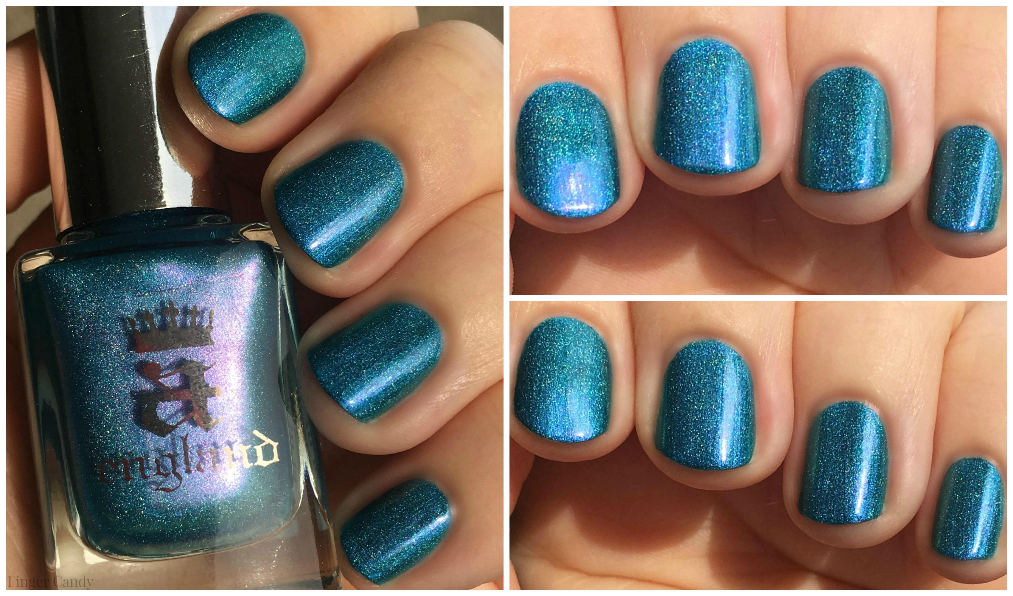 Rainbow Holo Collage 7 Turquoise