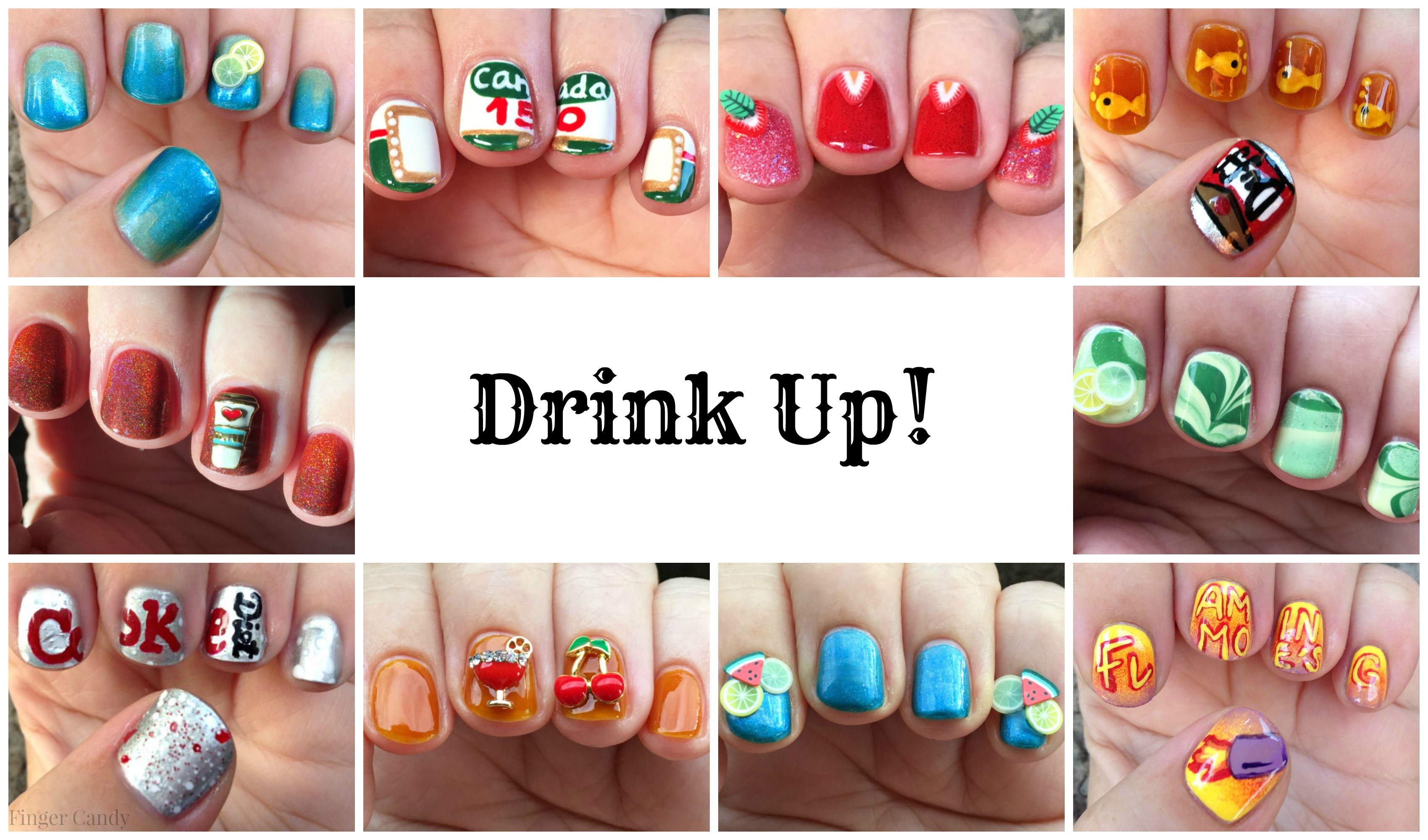 5th Anniversary Beverage Collage