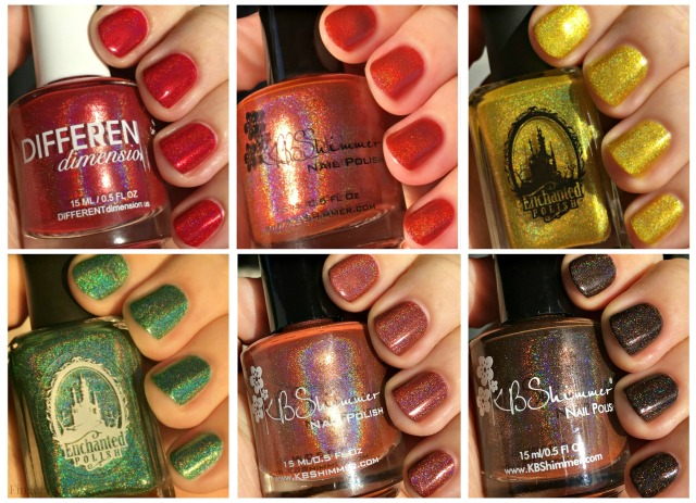 Fallish Polish Collage