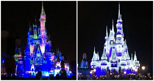 Magic Kingdom Castle Collage