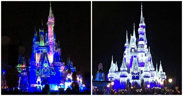 Magic Kingdom Castle Collage