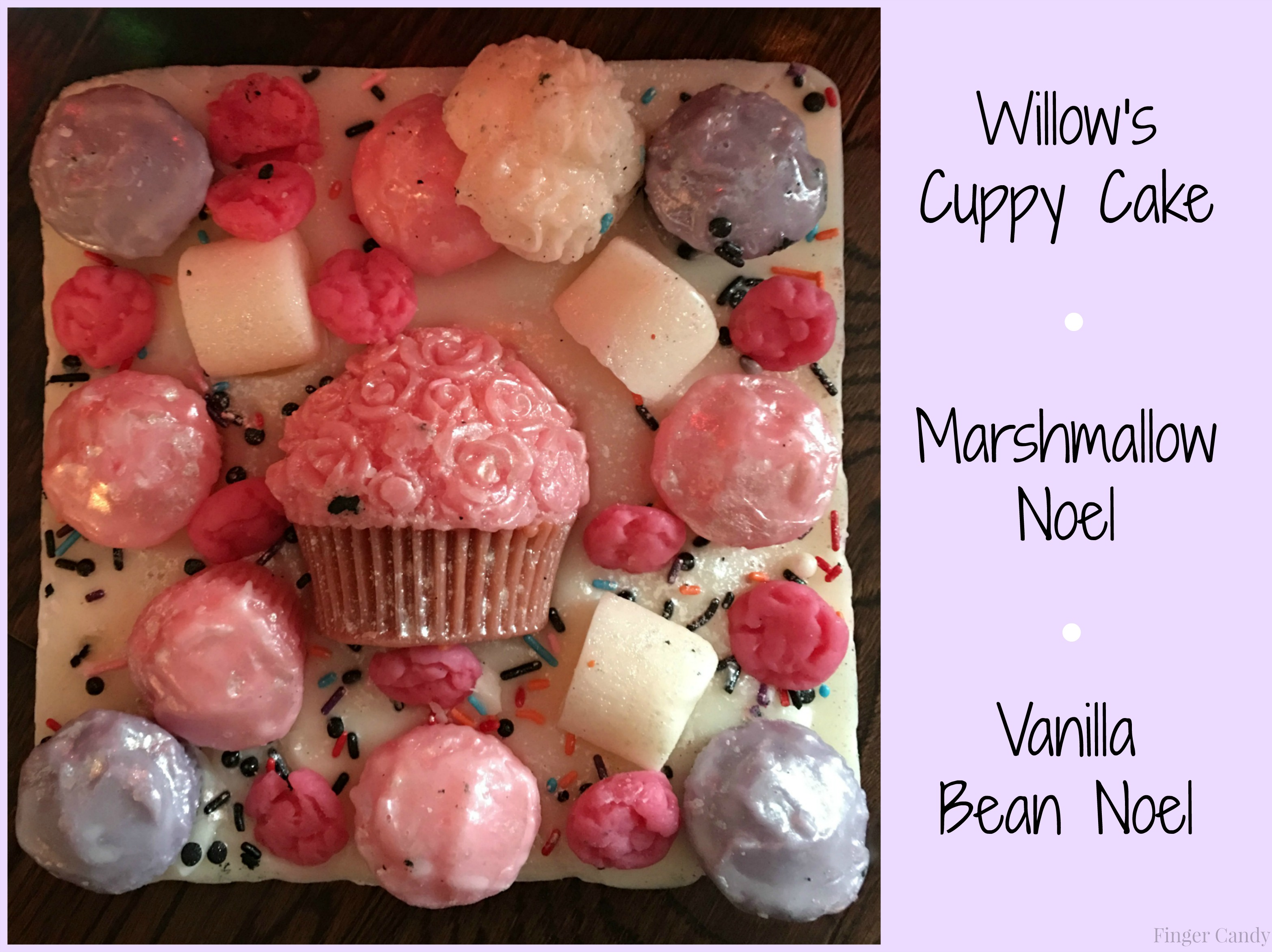 cuppy cake collage