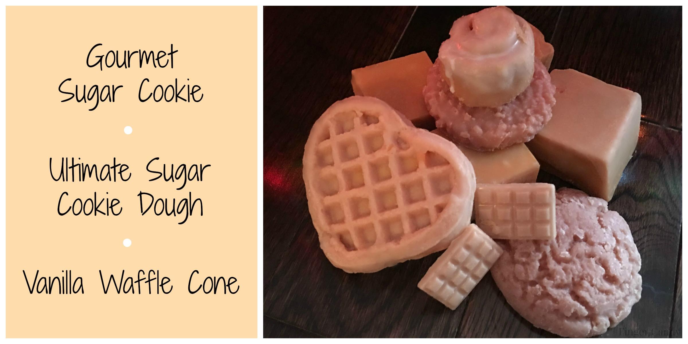 gourmet sugar cookie collage