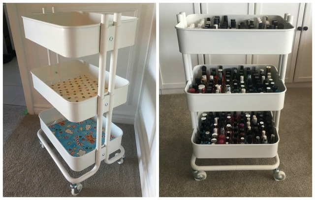 Rolling Cart Collage