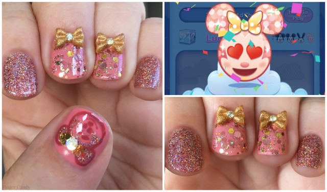 Rose Gold Minnie Collage