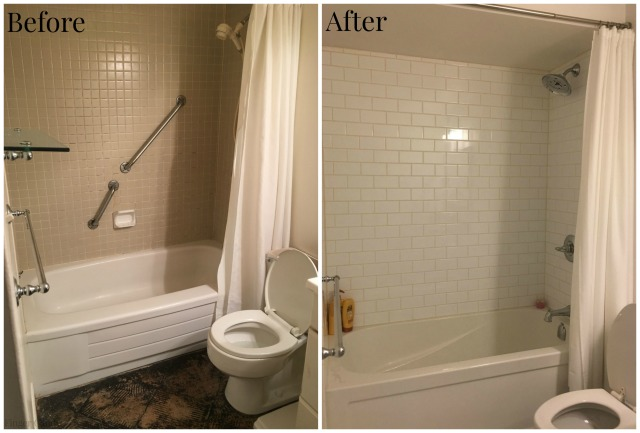 Bathroom Reno Collage