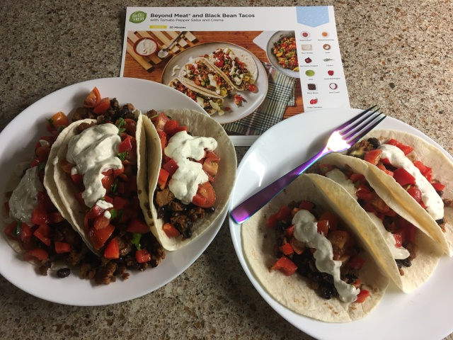Beyond Meat Tacos 1