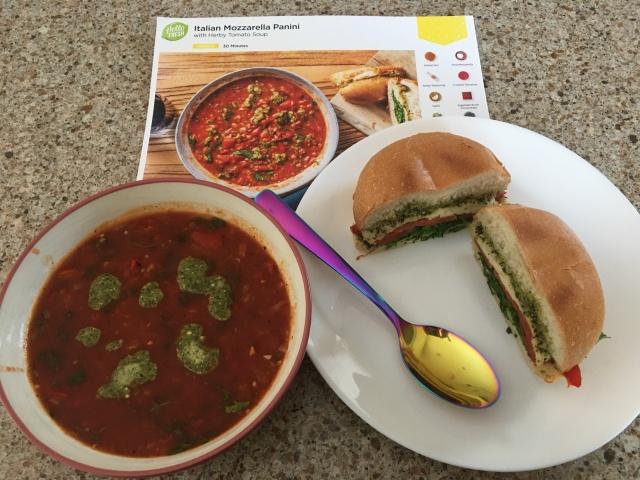 Soup and Panini 1