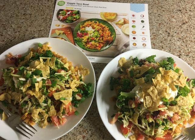 4 Veggie Taco Bowl 1