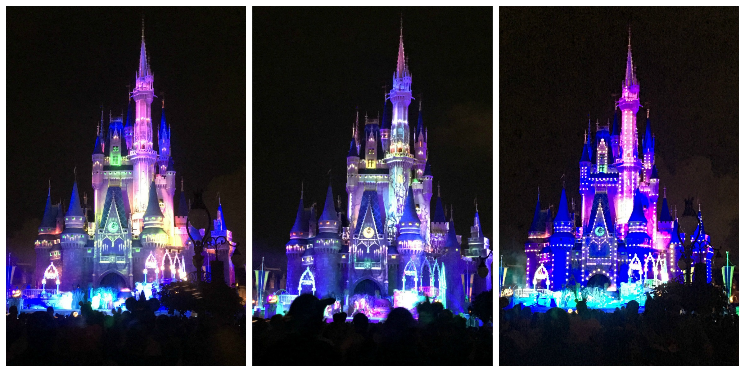 Halloween Castle Collage