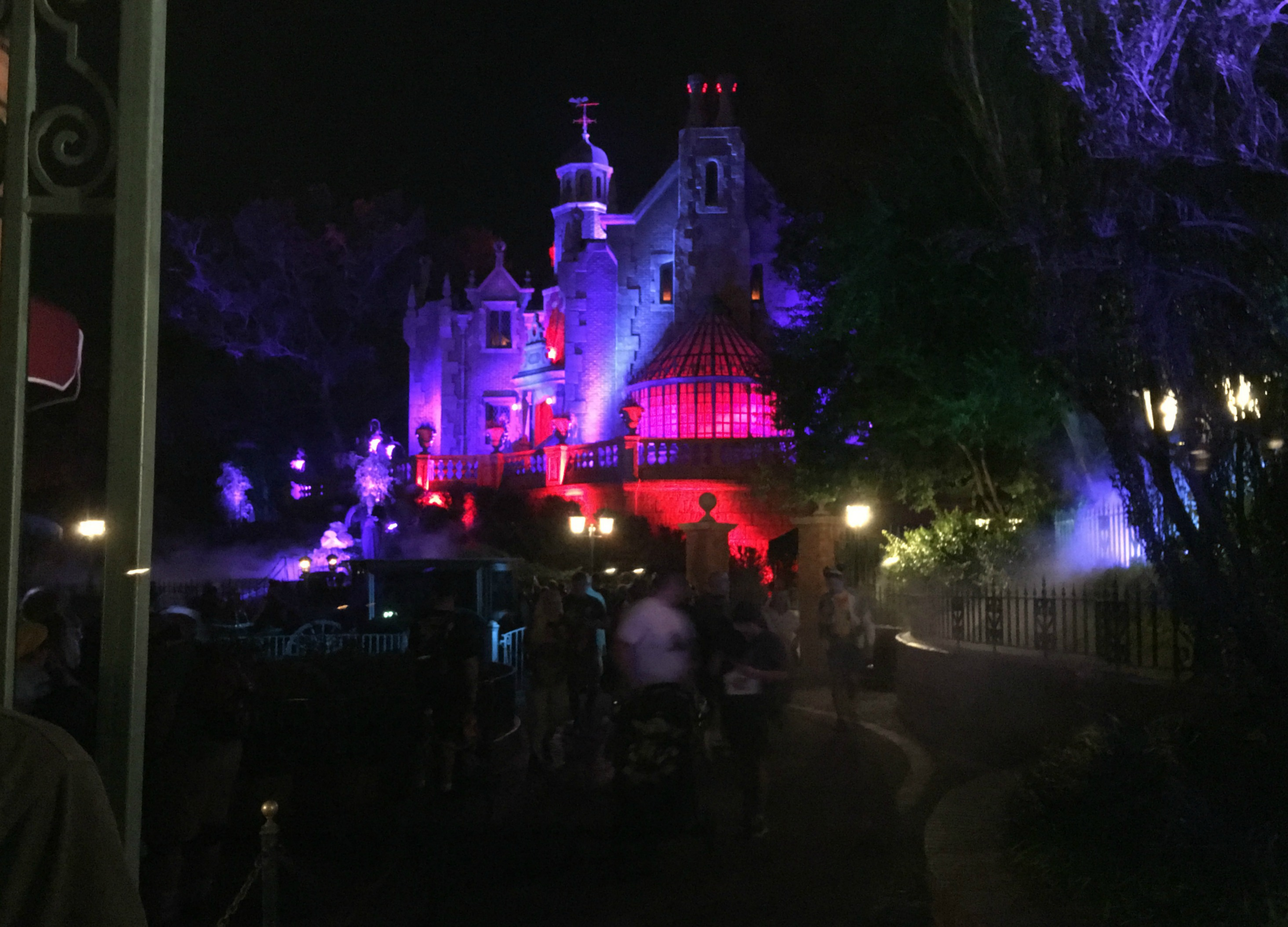 Haunted Mansion on Halloween